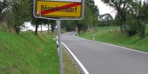 Ortsausgang von Böseckendorf (Sat1)
