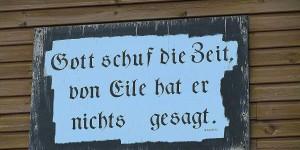 Schild am Hafen von Wangerooge