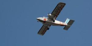 Flugzeug nach Wangerooge