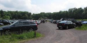 Nun voller Parkplatz