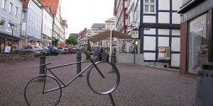 Fußgängerzone in Bad Wildungen
