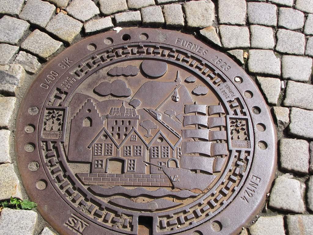 Gullydeckel in Bergen