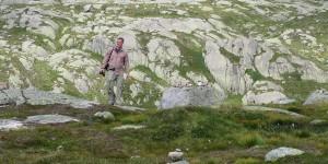 Wanderweg im Kjeragmassiv