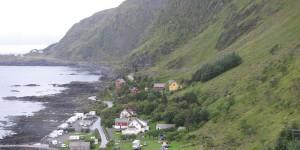 Campingplatz auf der Insel Runde