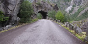 Alte Straße in Norwegen