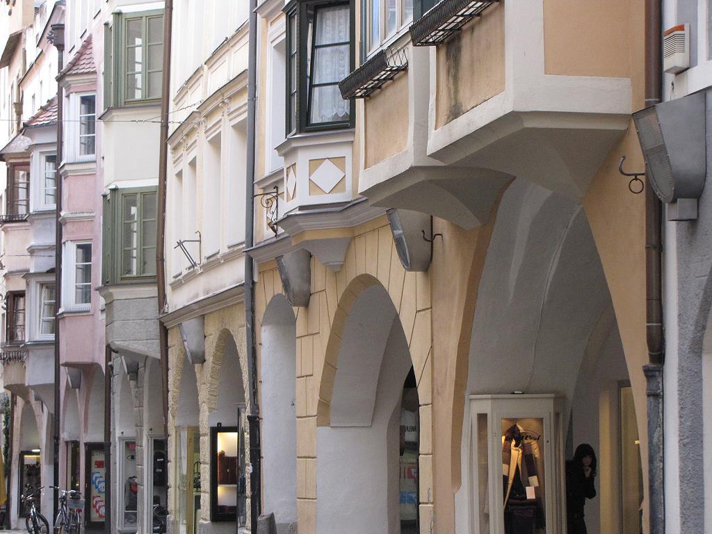Laubengänge in Brixen