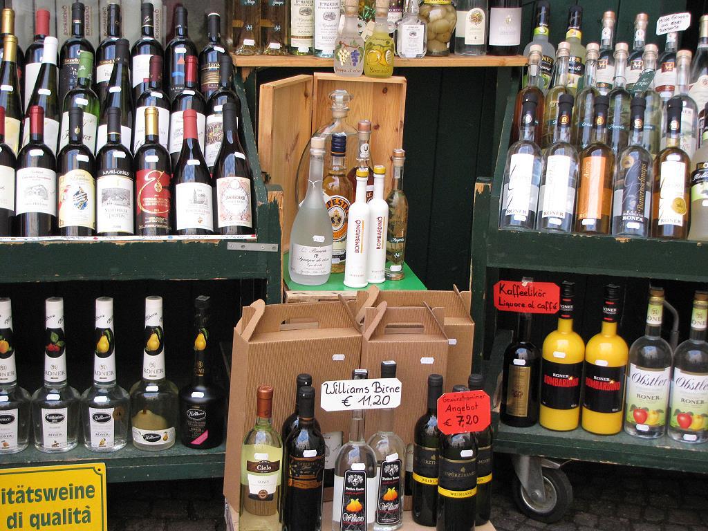 Wein ist typisch für Südtirol