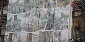 Südtiroler Wandgemälde