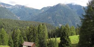Landschaft der Dolomiten