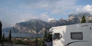 Wohnmobil am Gardasee