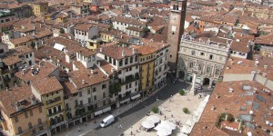 Verona vom Lambertiturm aus gesehen