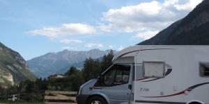 Mit dem Wohnmobil durch Tirol