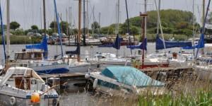 Innenhafen von Harlesiel
