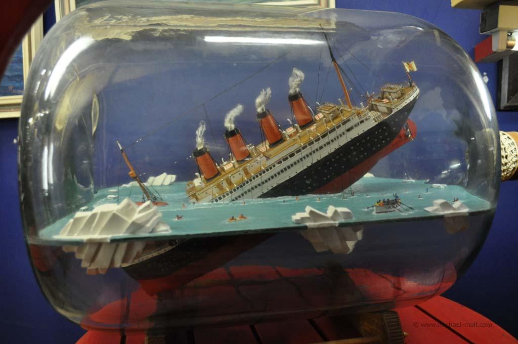 Titanic als Buddelschiff