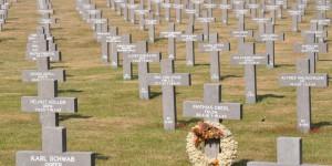 Deutscher Soldatenfriedhof in Holland
