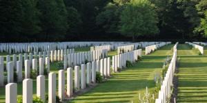 Britischer Soldatenfriedhof bei Kleve