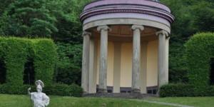Skulptur in den Klever Gärten