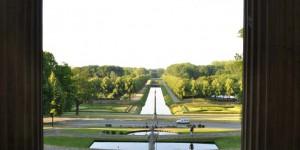 Blick auf die Gärten von Kleve