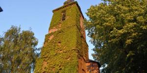 Kirchturm in Schenkenschanz