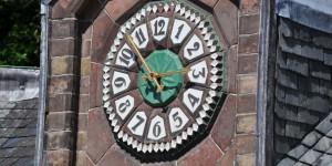 Uhr am Jagdhaus St. Hubertus