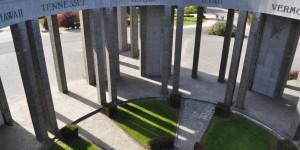 Denkmal bei Bastogne