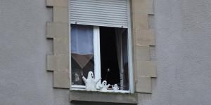 Geister auf der Fensterbank