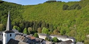 Blick auf Esch-sur-Sûre