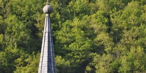 Kirchturm von Esch-sur-Sûre