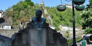 Büste von Victor Hugo