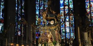 Altar in der Luxemburger Kathedrale