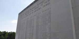 Namen von vermissten Soldaten