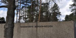 Gedenkstätte in Bergen-Belsen