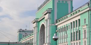 Bahnhof von Novosibirsk