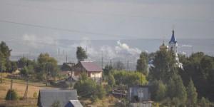 Industrie im Süden von Perm