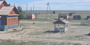 Wohnhaus in der Mongolei