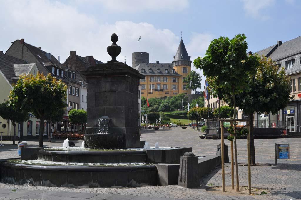 Fußgängerzone in Mayen