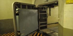 Schutztor im ehemaligen Regierungsbunker