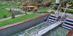 Barfußpfad und Wassertretbecken