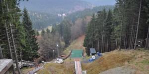 Skischanze in Schmiedefeld am Rennsteig