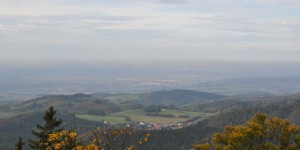 Panorama in das Werratal