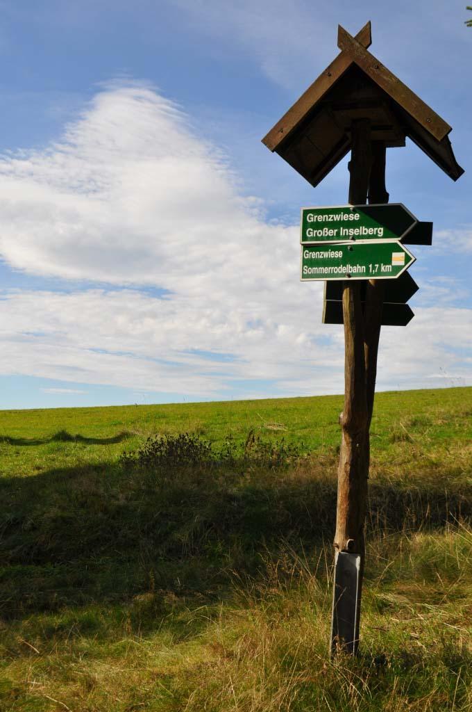 Aufstieg zum Großen Inselsberg