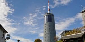 Gipfel vom Großen Inselsberg