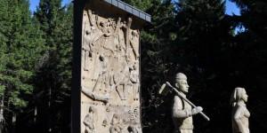 Denkmal am Rondell in Oberhof