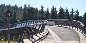 Brücke am Rondell in Oberhof