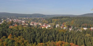 Blick auf Finsterberg