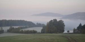 Steinbach-Hallenberg unter Nebel