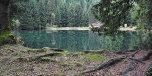 Staustufe des Lützschetalsees