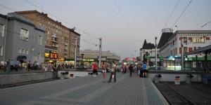 Abfahrt in Moskau