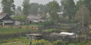 Kleingärten in Russland