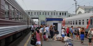 Bahnhof in Kirov